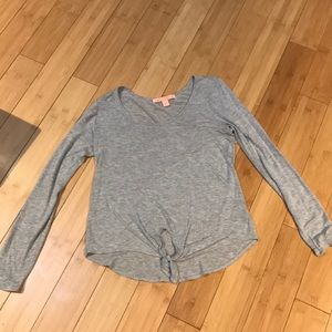 Gray long sleeve shirt medium